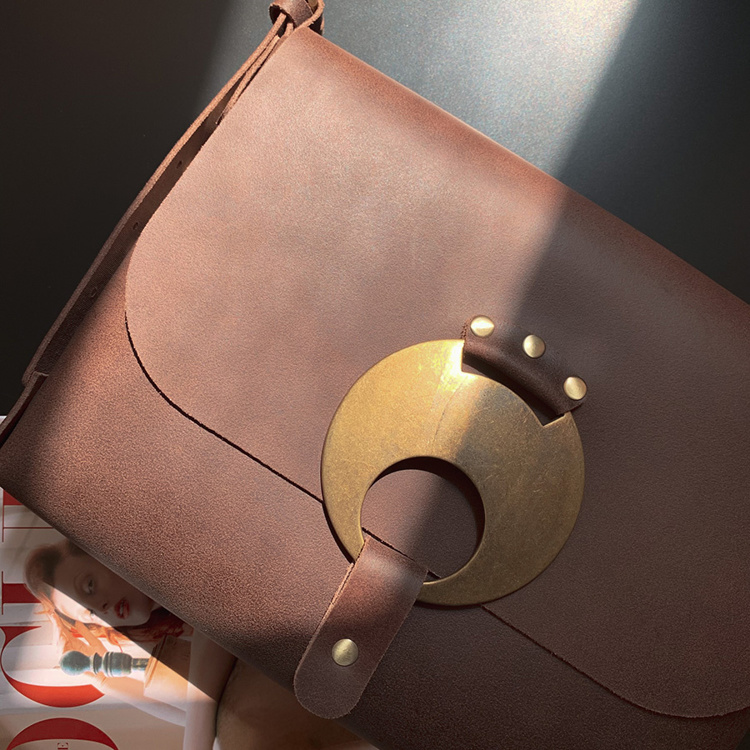 """Picture of """"Folegandros"""" Leather  Bag"""